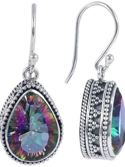 Topaz Teardrop Hollywood Sensations Dangle Earrings