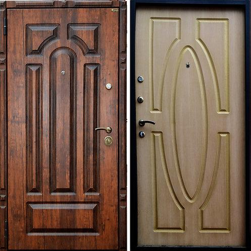"""Дверь металлическая """"3D патина"""""""