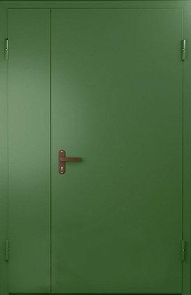 """Дверь металлическая, двухстворчатая """"ТЕХНО""""»"""