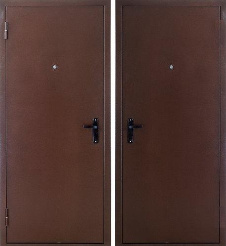 """Дверь металлическая """"Металл с двух сторон""""»"""