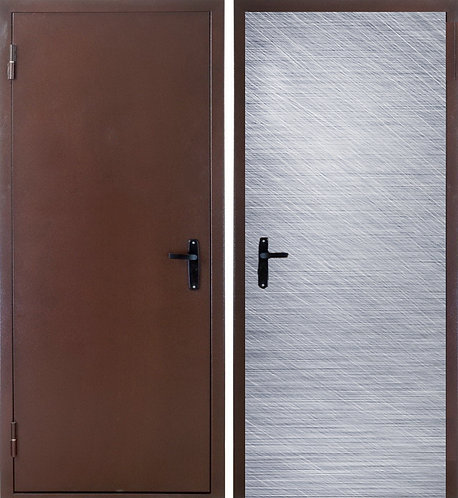 """Дверь металлическая """"ТЕХНО"""" утепленная"""