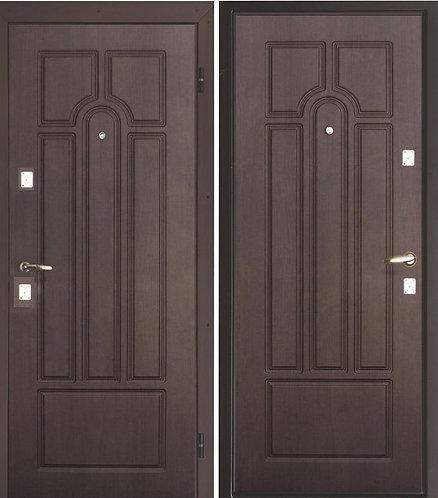 Дверь металлическая Накладка-Накладка