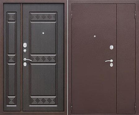 """Дверь металлическая, двухстворчатая """"Порошок-Накладка"""""""