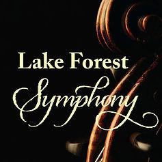 Lake Forest Symphony gala logo