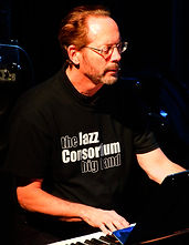 Jazz Consortium Big Band keyboardist