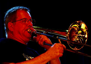 Jazz Consortium Big Band lead trombonist