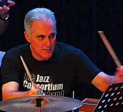 Jazz Consortium Big Band drummer