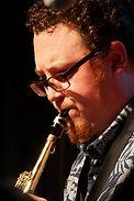 Jazz Consortium Big Band soprano saxophonist