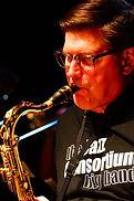 Jazz Consortium Big Band tenor saxophonist