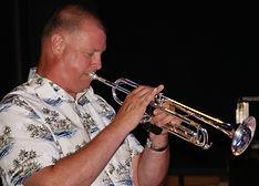 Jazz Consortium Big Band trumpeter
