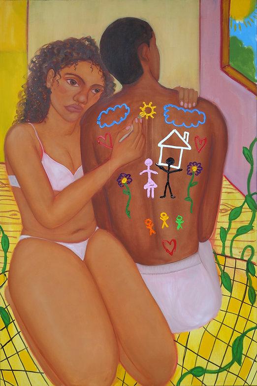 I want a house Monica Hernandez artist great gal