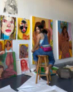 Monica Hernandez artist great gal