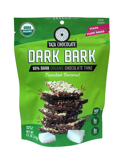 Taza Dark Bark Coconut