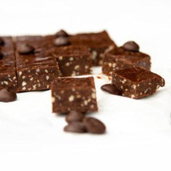 Chocolade fudge met amandelen en biscuit | 200 gram