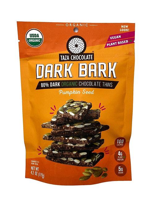 Taza Dark Bark Pumpkin seed