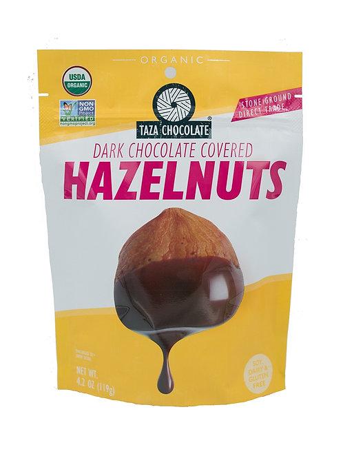 Choco covered hazelnoten