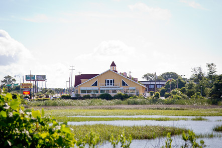 Enjoy a Ocean Marsh View while you dine!