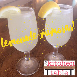 Lemonade Mimosa