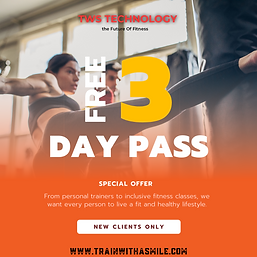 free day pass fitness class