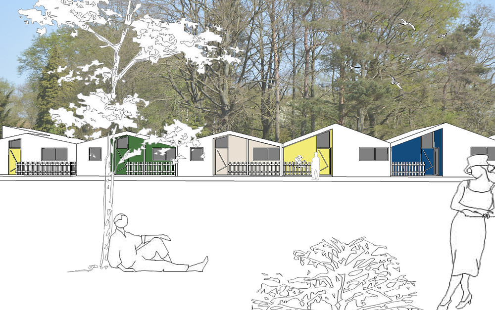 kleinschalig wonen ontwerp sociale woningen