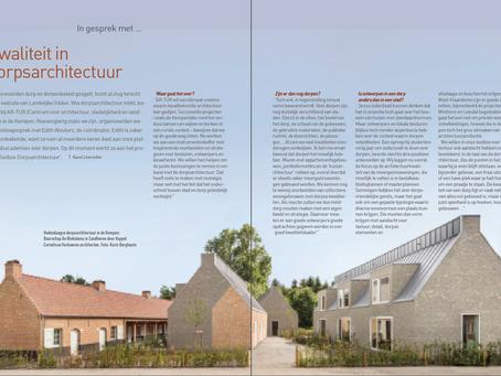 Interview met Landelijke Gilden over dorpsarchitectuur
