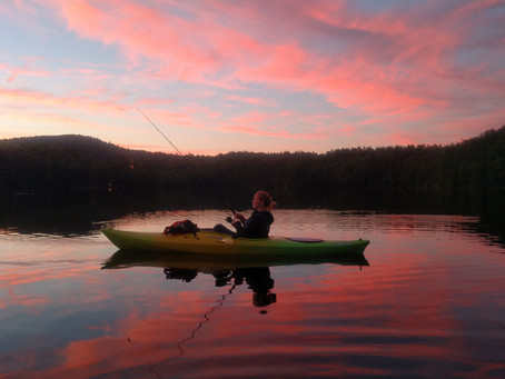 Whats so great about kayak fishing anyway?
