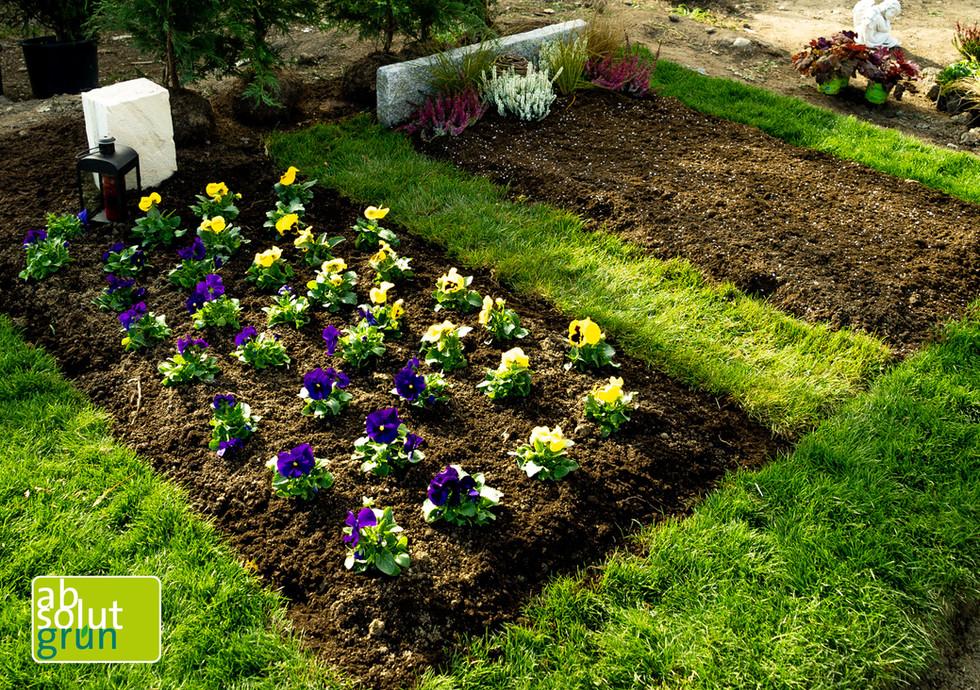 Grabgestaltung Blütenzauber