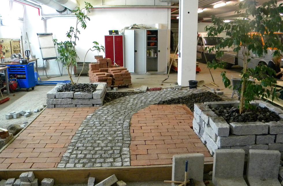 Wegebau Lehrwerkstätte
