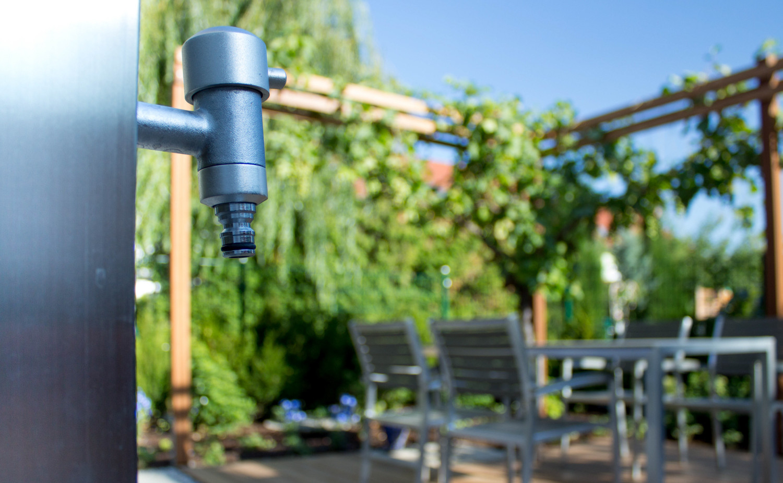 Wasseranschluss im Garten
