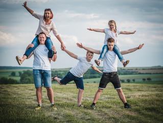 Rodinné focení jako příjemná procházka