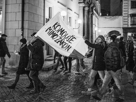 Václavák 5.březen 2018