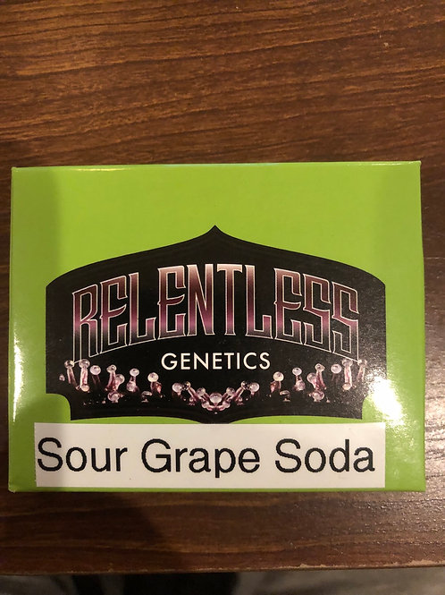 Sour Grape Soda - Relentless Genetics