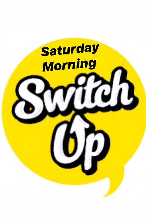 Saturday Morning SWITCHUP @9:30am - REV+FLOW with Devon