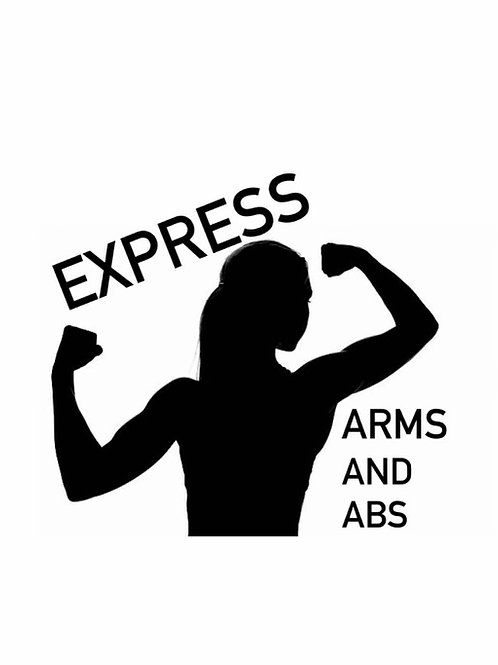 Virtual Express Arms and Abs(30) with Kat - Thurs @10:30am