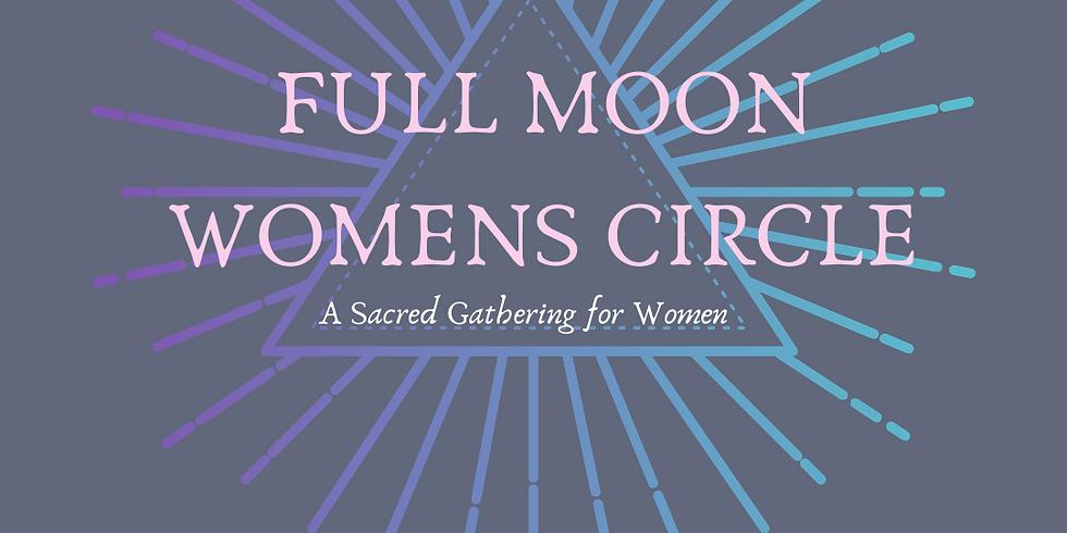 MAY FULL MOON WOMENS CIRCLE