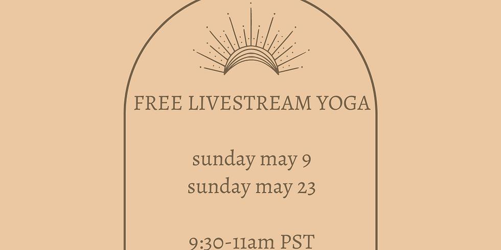 FREE SUNDAY YOGA - MAY 9
