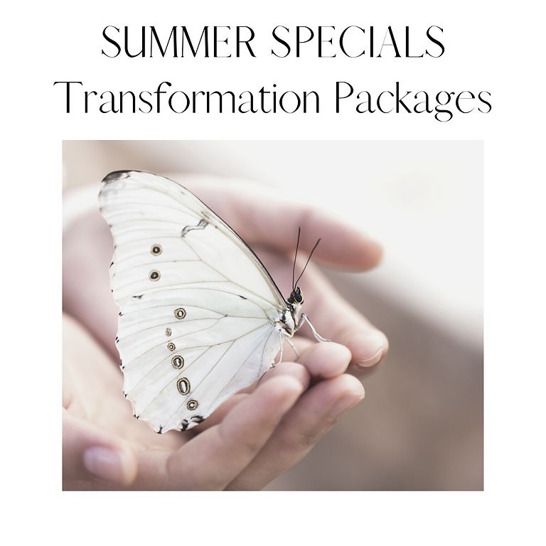 Summer Specials - Transformation Packages