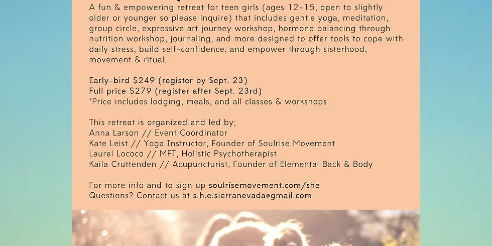 SHE - Retreat for Teen Girls