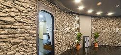 Kunstholz und Baumrindenoptik Wandpaneele