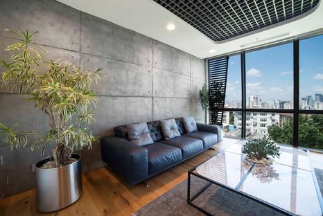 Wohnzimmer Beton Design