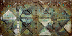 Kunststoffe Wandpaneele im Stahldesign und Industrie Look