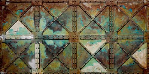 Woxx GFK Stahlpaneele für dekorative Wandgestaltungen