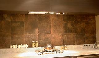 Leder Küchenrückwand