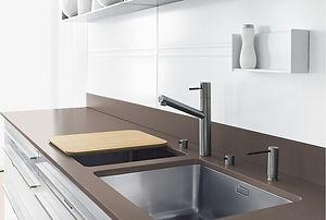 Stahl Küchenzeile