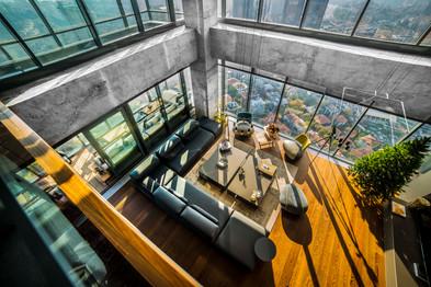 Penthouse Beton Architektur