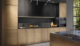 Hochwertige Edelstahl Design Küchen mit modernen Kochinsel