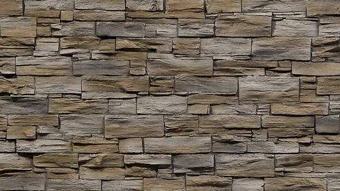 Kunststoff Steinwand Pizarra - Schieferwand