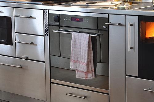 Tiba Holzherde für moderne Küchen und Kochinsel