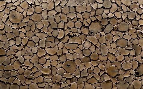 3D Kunstholzpaneele in Stirnholzoptik