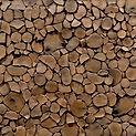 Kunstholz 3D Wandplatten - Tocho Stirnholz Wandpaneele